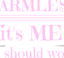 My Pitbull is harmless - it's me you should worry about Sticker