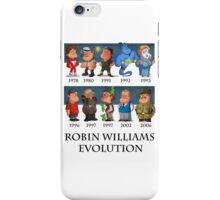 Robin Williams Evolution iPhone Case/Skin
