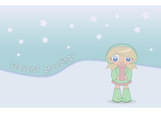 Season's Greetings  by psygon