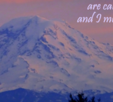 Mount Rainier Sticker