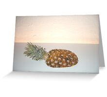 Pineapple-041 Greeting Card