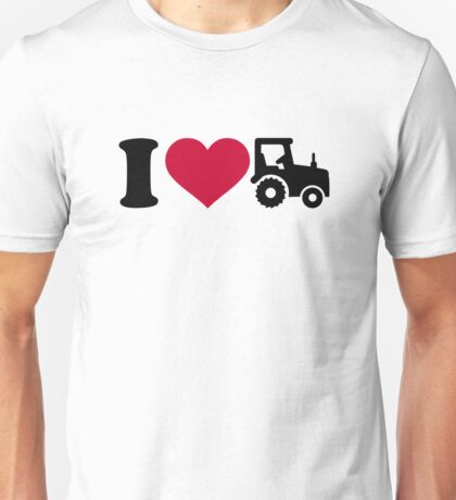 I love Tractor Unisex T-Shirt
