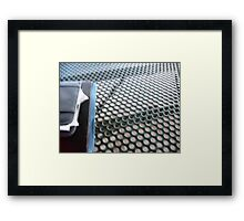 Metal Irony -What am I? (Great job SOLVED) Framed Print