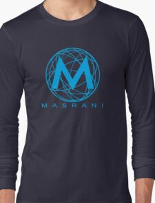 Masrani Blue Long Sleeve T-Shirt