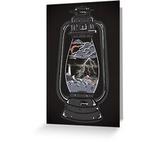 Storm Lantern... Greeting Card