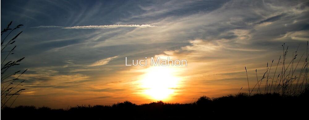 Autumn Sunset by Luci Mahon