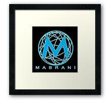 Masrani Blue 2 Framed Print