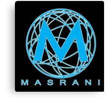 Masrani Blue 2 Canvas Print