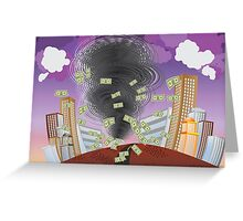 Powerful Tornado Greeting Card