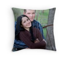 Engaged Throw Pillow
