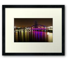 O2 Riverside Framed Print
