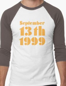 September 13th Men's Baseball ¾ T-Shirt