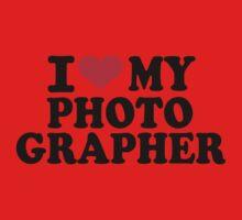 I love my Photographer One Piece - Short Sleeve
