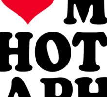I love my Photographer Sticker