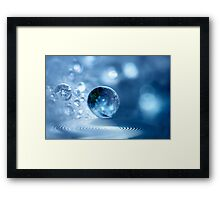 Angel Drop Framed Print