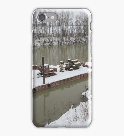 IL BARCONE SUL FIUME PO - GRAMIGNAZZO DI SISSA - PARMA - ITALY MONDO iPhone Case/Skin