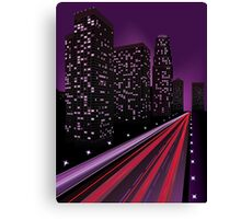 Night city 2 Canvas Print