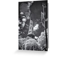 Memorial Chapel, University of Maryland Greeting Card