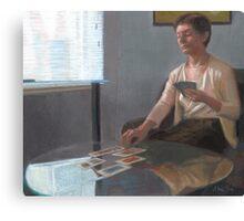 Madeline Reads Tarot Canvas Print