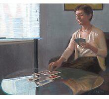 Madeline Reads Tarot Photographic Print