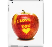 Apple I Love You iPad Case/Skin