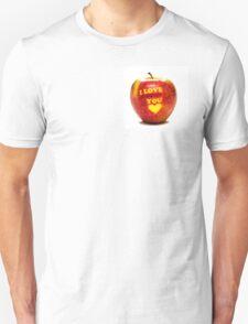 Apple I Love You T-Shirt