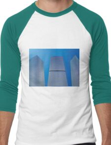 Skyscrapers 2 Men's Baseball ¾ T-Shirt