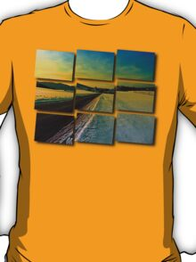 Winter road into dusk | landscape photography T-Shirt