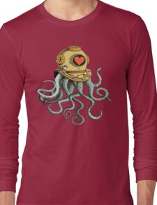 octopus and his soulmate Long Sleeve T-Shirt