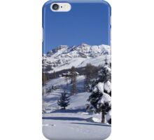 A snowy landscape iPhone Case/Skin