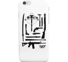 The Walking Dead Weapons iPhone Case/Skin