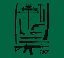 The Walking Dead Weapons Tank Top