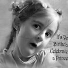 "Attitude ""Happy Birthday"" ~ Greeting Card by Susan Werby"