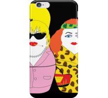 Fabulous Realness Black iPhone Case/Skin