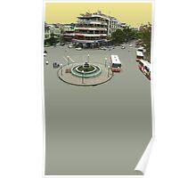 hanoi roundabout Poster