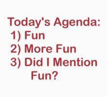 Today's Agenda: Fun Kids Clothes
