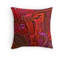 Antique Tribulation Throw Pillow