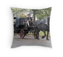 A Ride To A Life Time Throw Pillow