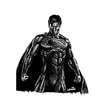 Superman doodle Photographic Print