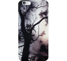 Tree branches on summer evening  in Spain square medium format film analogue photographer iPhone Case/Skin