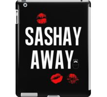 Sashay Away black iPad Case/Skin