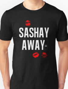 Sashay Away black T-Shirt