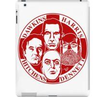 The Four Horsemen: New Atheists (Scarlet) iPad Case/Skin