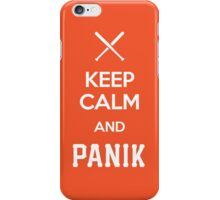 KCP - Keep Calm and Panik iPhone Case/Skin
