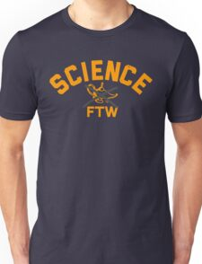 SCIENCE FTW by Tai's Tees Unisex T-Shirt