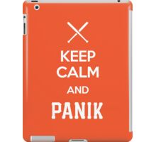 KCP - Keep Calm and Panik iPad Case/Skin