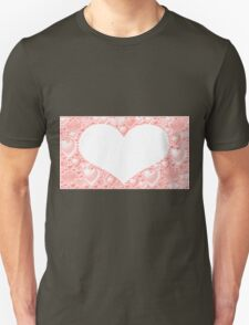 Background with hearts  T-Shirt