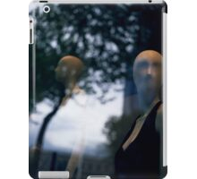 Surreal shop dummy mannequin portrait square color analogue medium format film still life Hasselblad  photo iPad Case/Skin