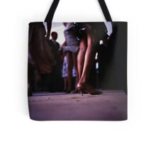 Young lady dancing in Spanish wedding party dance Hasselblad  analog film still life photo Tote Bag