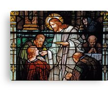 Eucharist, Manna from Heaven Canvas Print